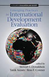 Emerging Practices in International Development Evaluation (Hc)