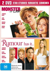 Monster In Law / Rumour Has It (2 Disc Set) on DVD