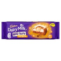 Cadbury Dairy Milk Big Taste Toffee Wholenut (300g)