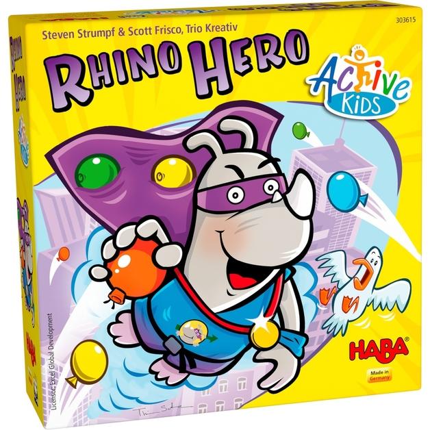 Rhino Hero: Active Kids - Children's Game