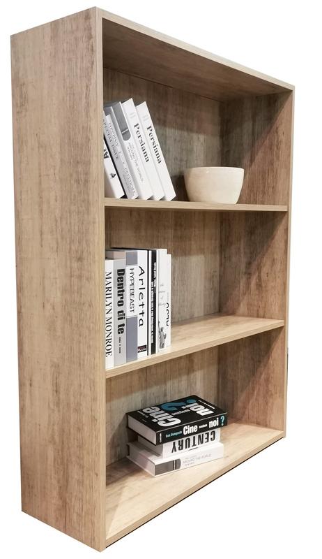 Bookcase 1200mm in Wood Grain Finish