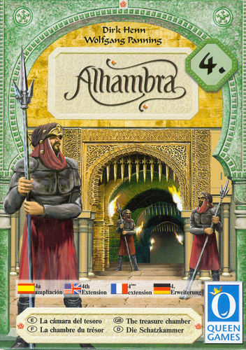 Alhambra: The Treasure Chamber - Game Expansion