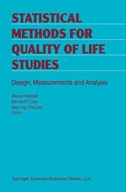 Statistical Methods for Quality of Life Studies image