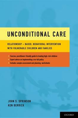 Unconditional Care by John S. Sprinson image