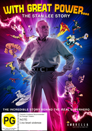 With Great Power: The Stan Lee Story on DVD