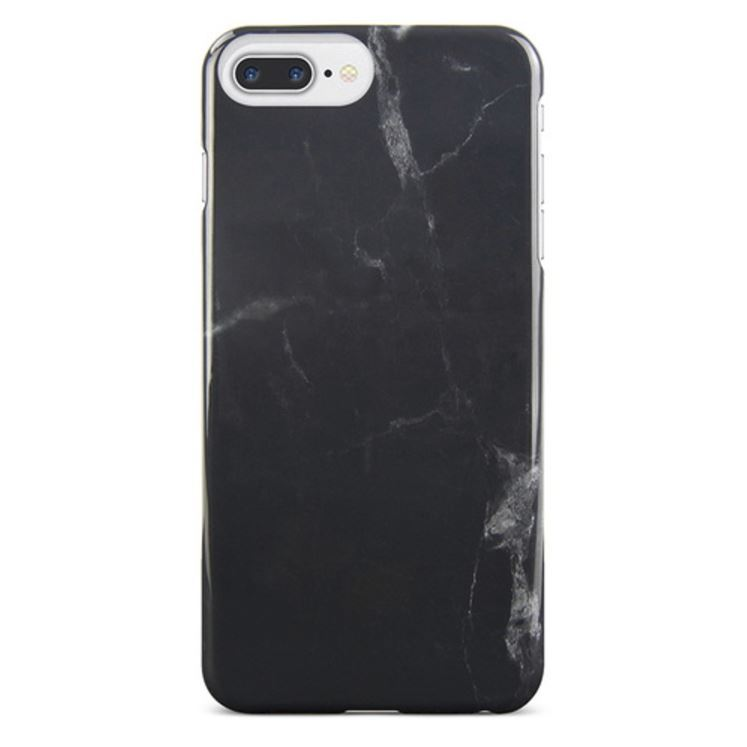 Gecko Designer Profile Case for iPhone 7/6/6s Plus - Black Marble image