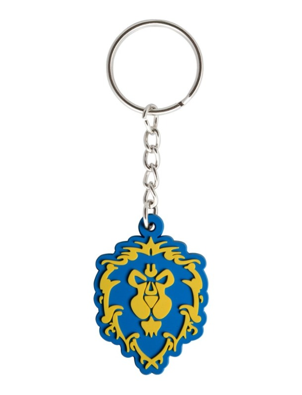 World of Warcraft: Alliance Logo - Rubber Key Chain