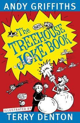 The Treehouse Joke Book by Andy Griffiths image