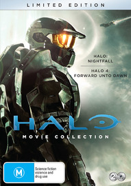 Halo: Movie Collection - Limited Edition | Forward Unto Dawn | Nightfall on DVD