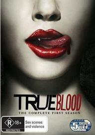 True Blood - The Complete 1st Season (5 Disc Set) on DVD