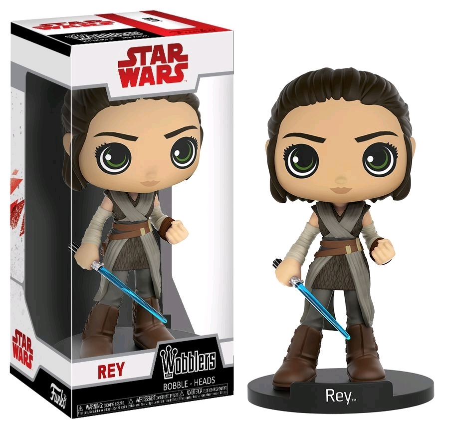 Star Wars: The Last Jedi - Rey Wobbler Vinyl Figure image