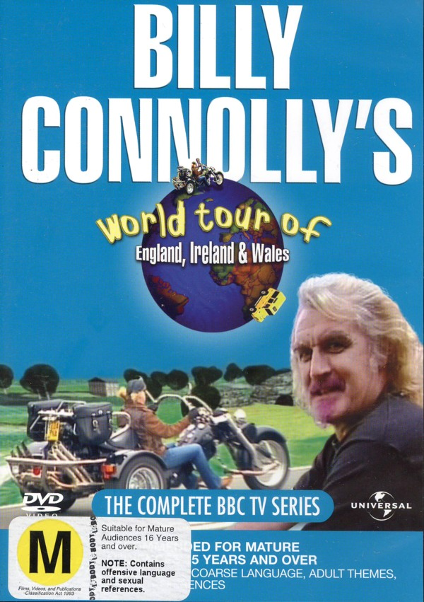 Billy Connolly - World Tour Of England, Ireland And Wales (2 Disc) on DVD image