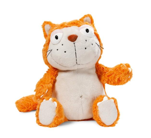 Nici: Hungry Cat - Orange 35cm