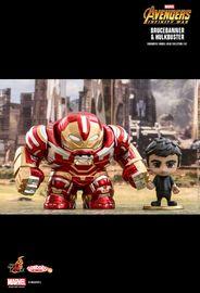 Avengers: Infinity War - Hulkbuster 2.0 & Bruce Banner Cosbaby Figure Set
