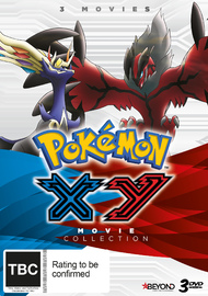 Pokemon: XY Movie Collection on DVD