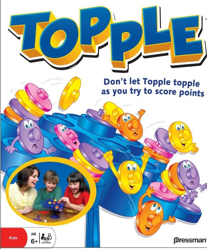 Topple - The Tipping Game image