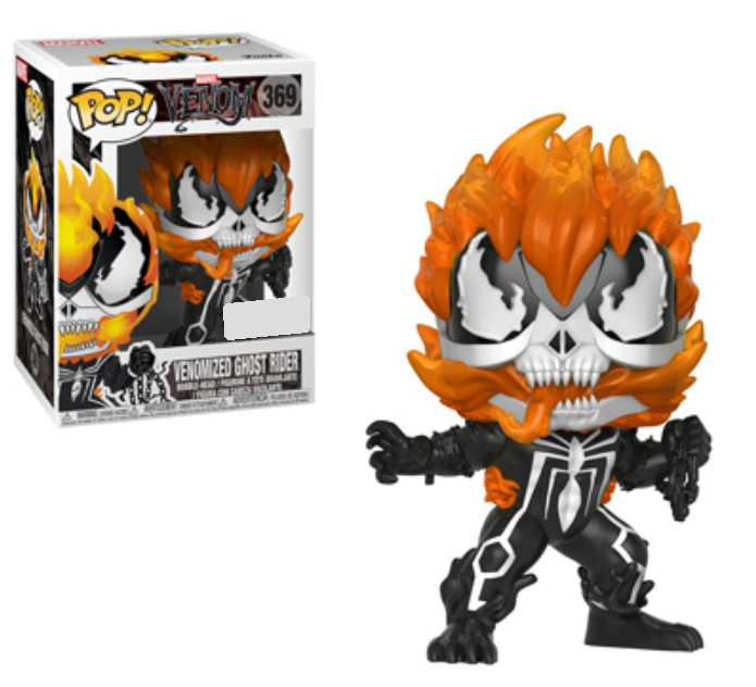 Venomized Ghost Rider - Pop! Vinyl Figure image
