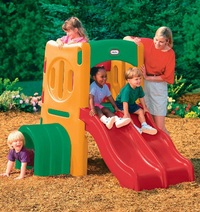 Little Tikes: Twin Slide Tunnel Climber - Outdoor Play-Gym