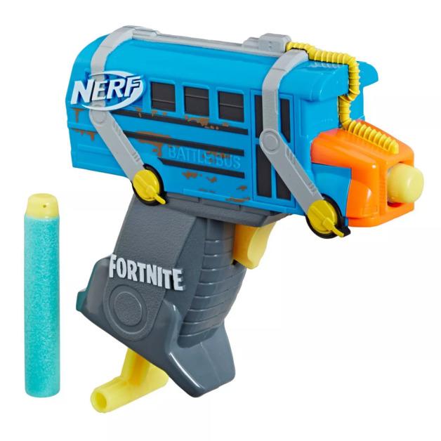 Nerf Fortnite: MicroShots Blaster - Battle Bus