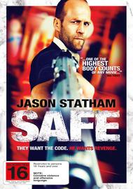 Safe on DVD
