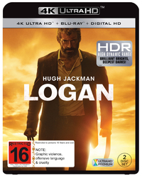 Logan on Blu-ray, UHD Blu-ray
