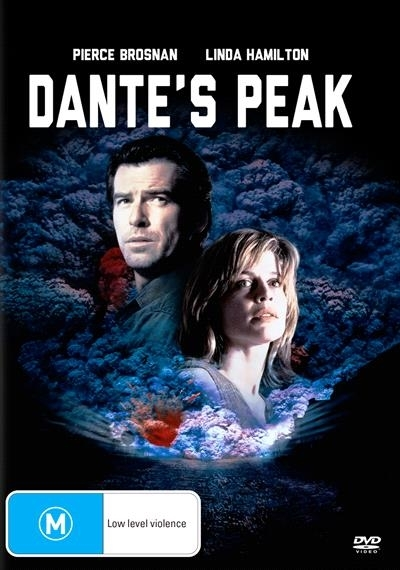 Dante's Peak on DVD image