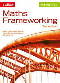 KS3 Maths Pupil Book 3.3 by Kevin Evans