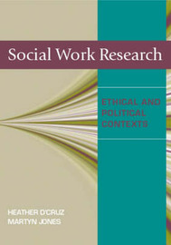 Social Work Research: Ethical and Political  Contexts by Heather D'Cruz image