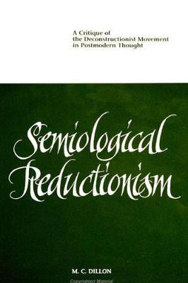Semiological Reductionism by M.C. Dillon image