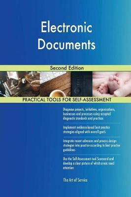 Electronic Documents Second Edition by Gerardus Blokdyk image