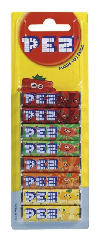 Pez: Fruits - Refill Pack - 68g