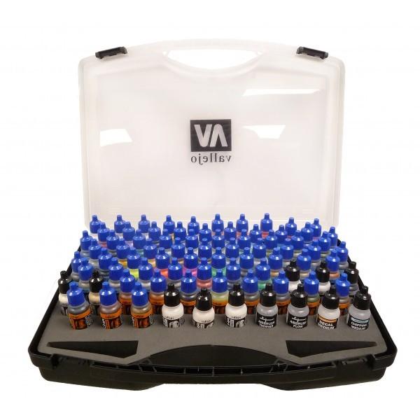 Vallejo Mecha Colour Colour Case (80pc)