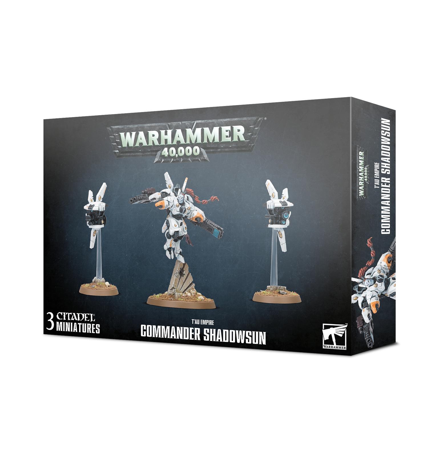 Warhammer 40,000 T'au Empire, Commander Shadowsun image