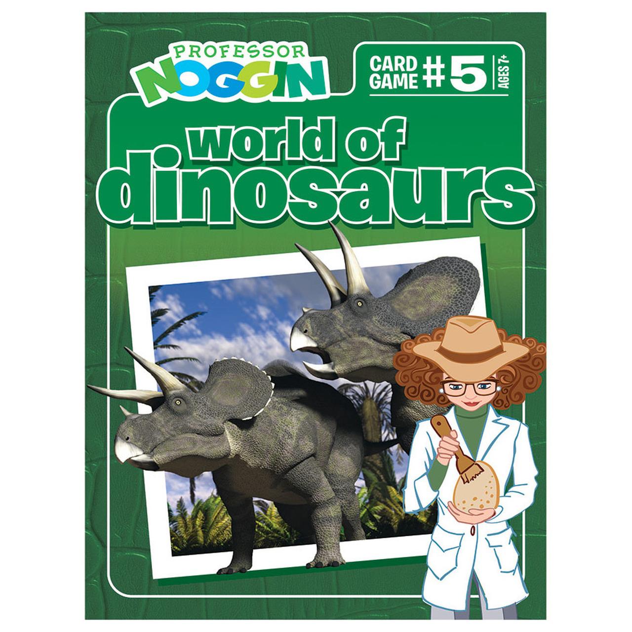 Professor Noggins: Dinosaurs Card Game image