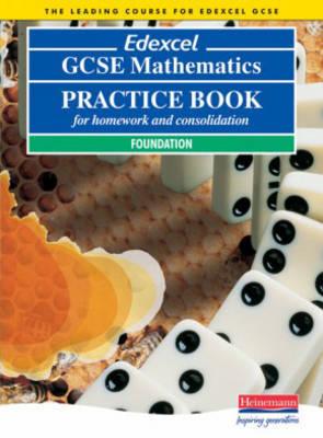 Edexcel GCSE Maths Foundation Practice Book by Keith Pledger image