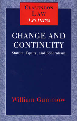 Change and Continuity by William Gummow image