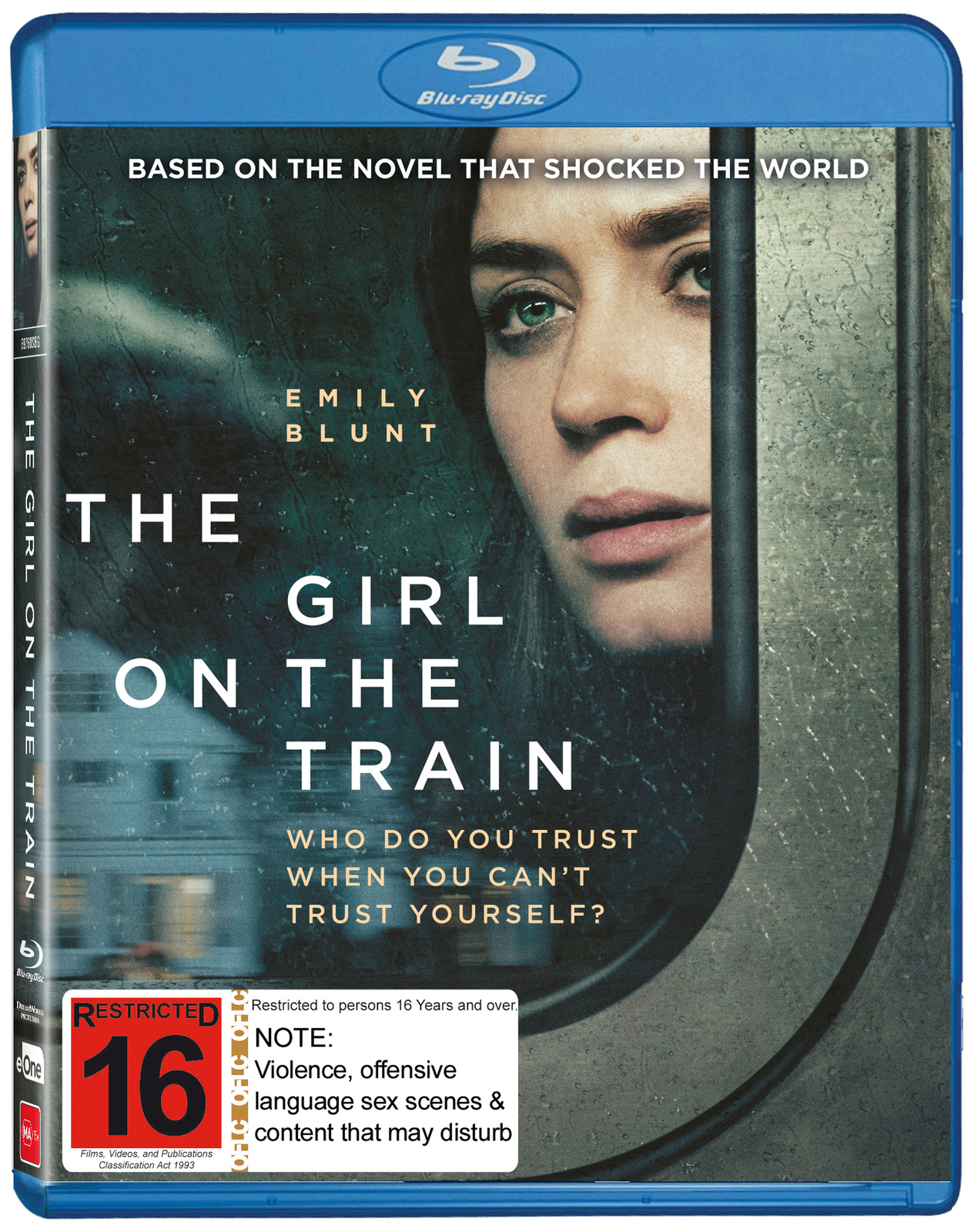 The Girl On The Train on Blu-ray image