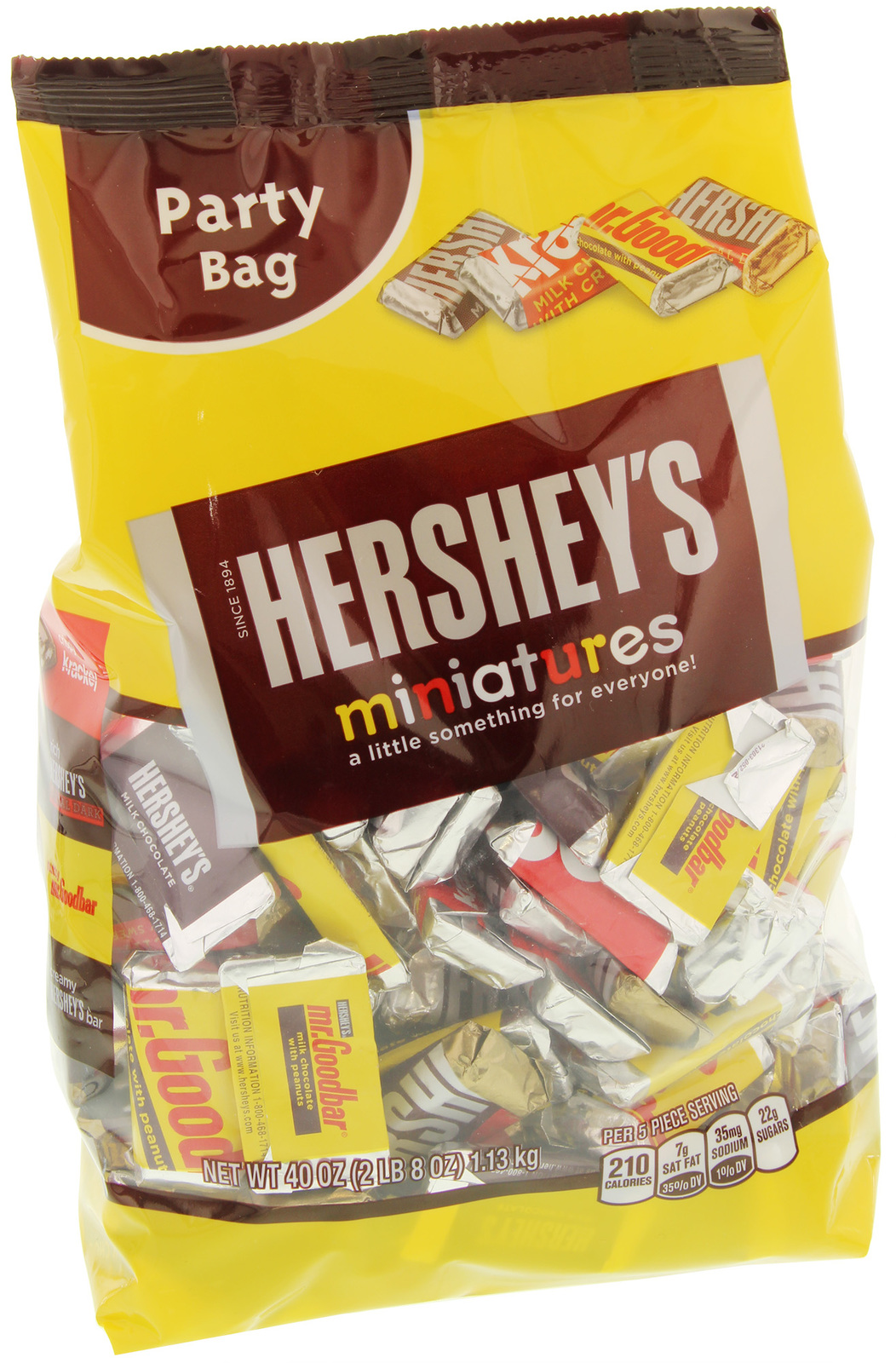 Hershey's Party Bag Assorted Miniatures (1.13kg) image
