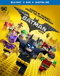 The Lego Batman Movie on Blu-ray