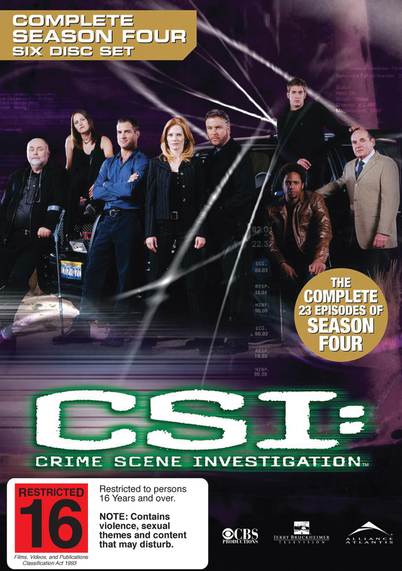 CSI - Las Vegas: Complete Season 4 (6 Disc Set) on DVD image