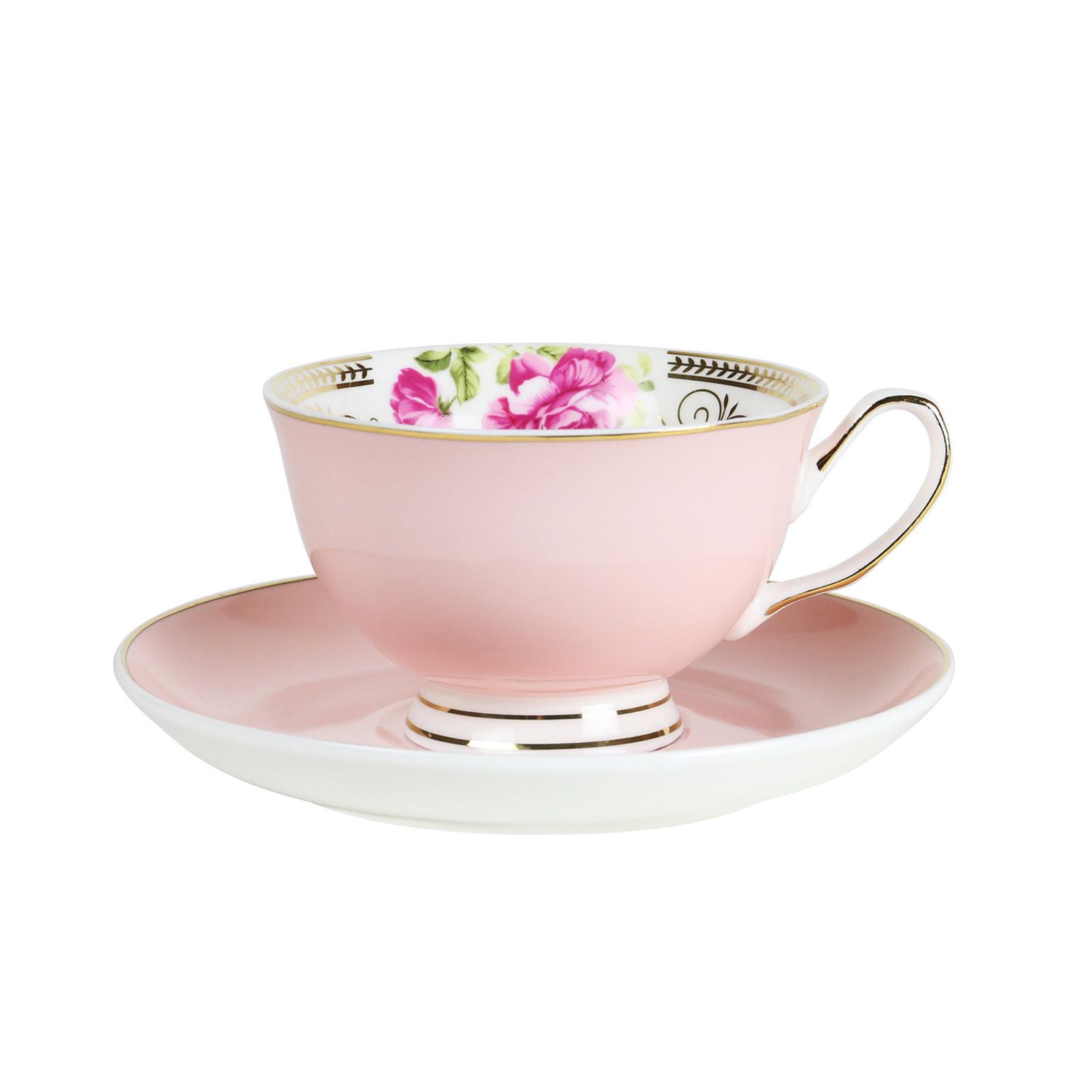 Robert Gordon: Teacup & Saucer (Parlour Pink) image