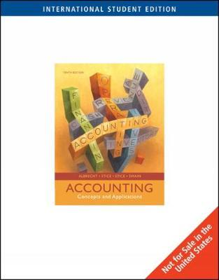 Accounting by W Steve Albrecht