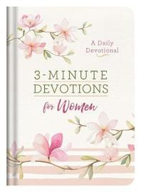 3-Minute Devotions for Women by Compiled by Barbour Staff image