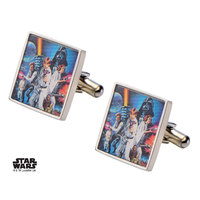 Star Wars: A New Hope Poster - Square Cufflinks