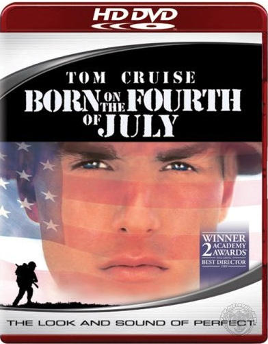 Born On The Fourth Of July on HD DVD image
