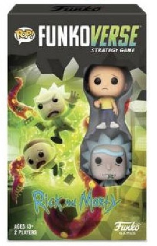 Funkoverse: Rick & Morty - Board Game (2-Pk)