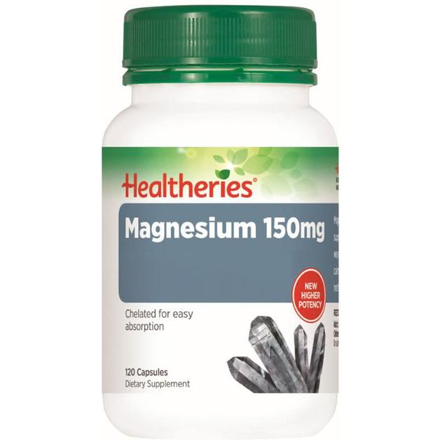 Healtheries 150mg Magnesium (120 Caps)