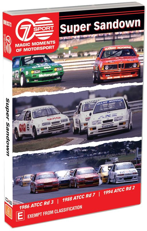 Magic Moments Of Motorsport: Super Sandown on DVD