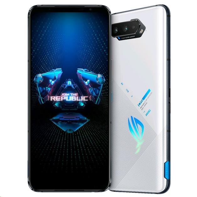 Asus ROG Gaming Phone 5 5G Dual (256GB/12GB RAM) - Storm White
