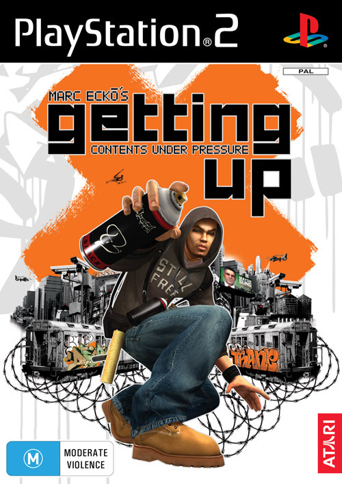 Marc Ecko's Getting Up: Contents Under Pressure for PlayStation 2